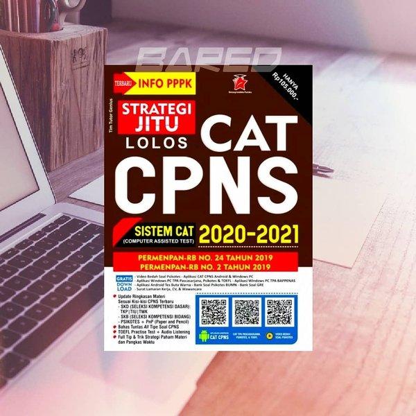 Buku Strategi Jitu Lolos Cat Cpns 2021 Edisi Terbaru Pppk Sistem Cat Original Shopee Indonesia