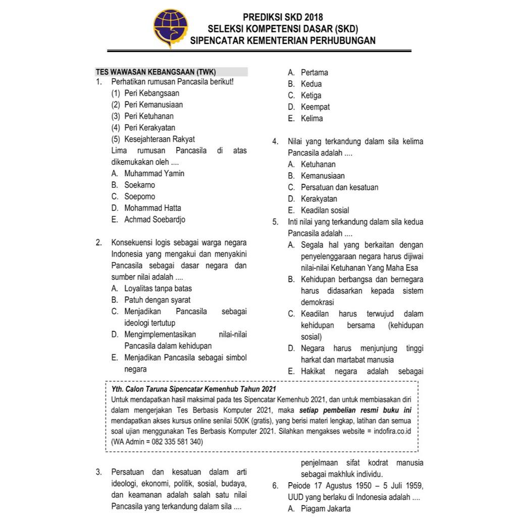 Prediksi Soal Tes Masuk Stpi 2018 Jawabanku Id