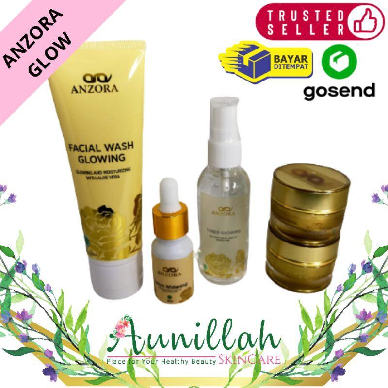 Anzora Skincare | Cream Anzora Glow Pemutih BPOM