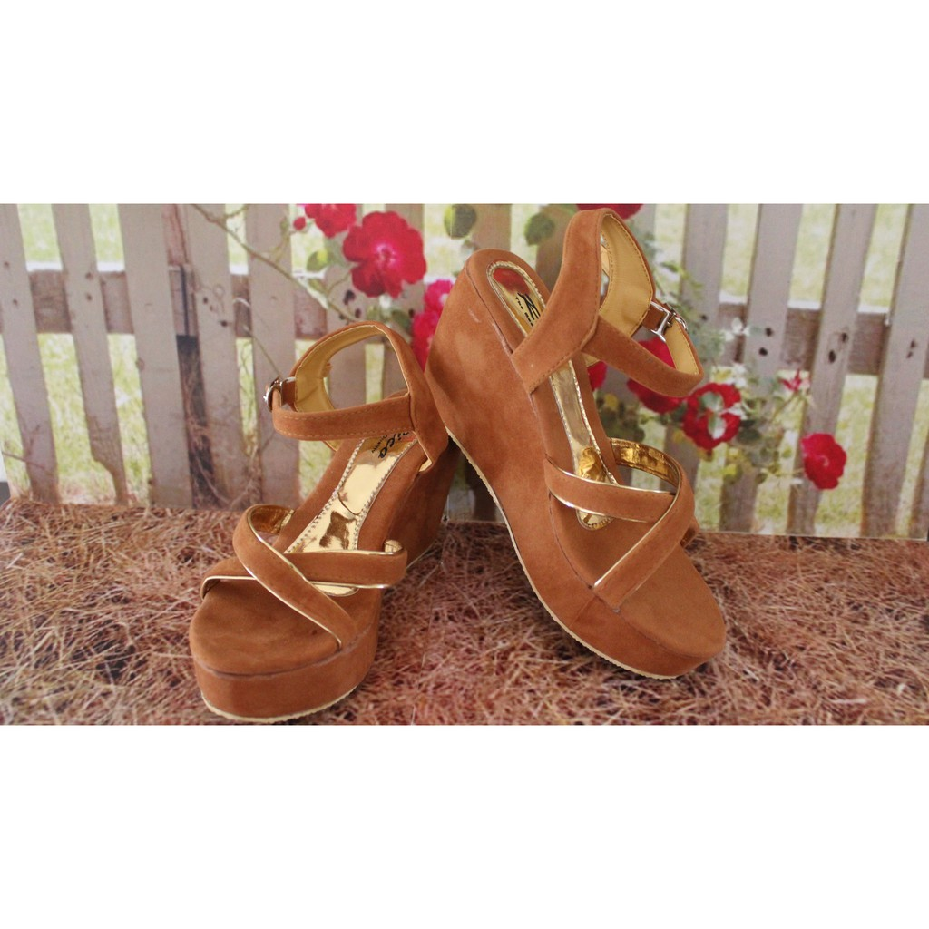 Toko Online Trenshoes Shopee Indonesia Sepatu Boots Wanita E Sapi Pb34