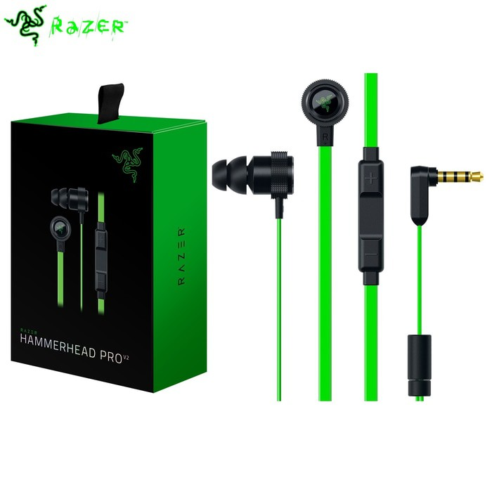 Razer HammerHead Pro V2 Headset Headphone Earphone RZ04-01730100 | Shopee Indonesia