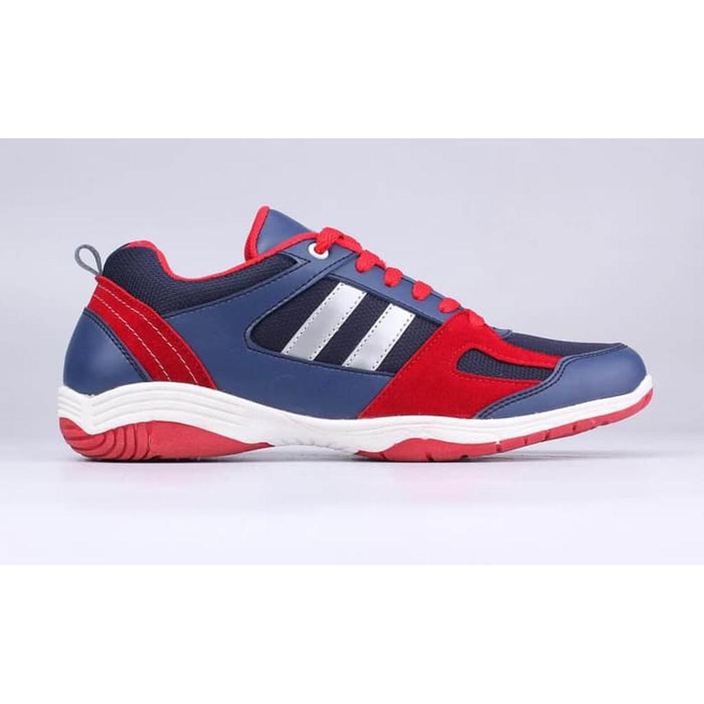 Sepatu Lari Pria - Running Shoes Men Original Catenzo AT 074 Blue Red  ffc2617832
