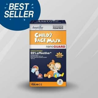 1 BOX 50 PCS MASKER ANYTIME KIDS CHILD MASK 99% PROTEKTIF ...