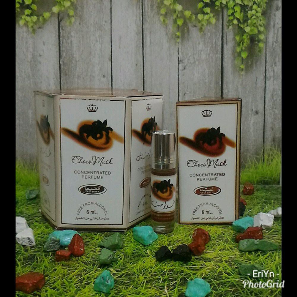 Parfum Arab Kasturi 6pcs Minyak Wangi Dobha Shopee Indonesia Zahrat Hawai Al Raehan