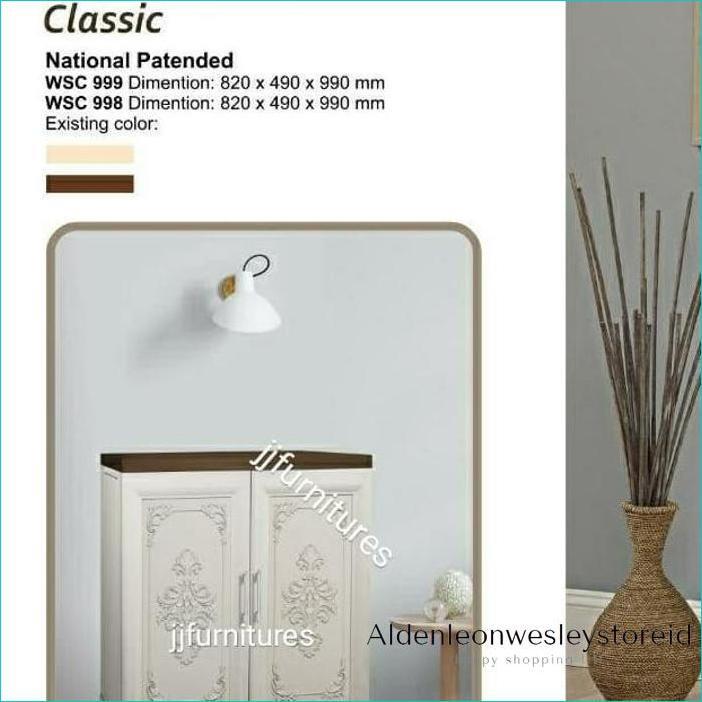 Lemari Plastik/Bufet Classic Wapolin