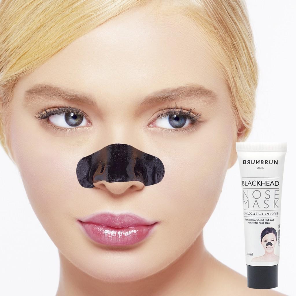 Brunbrun Paris Bb Blackhead Nose Mask Shopee Indonesia Ultra Rich Lipstick Gingersnap