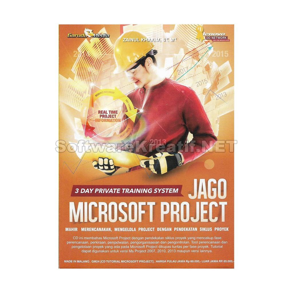 Garuda Media Cd Video Tutorial Jago Microsoft Project Shopee Indonesia