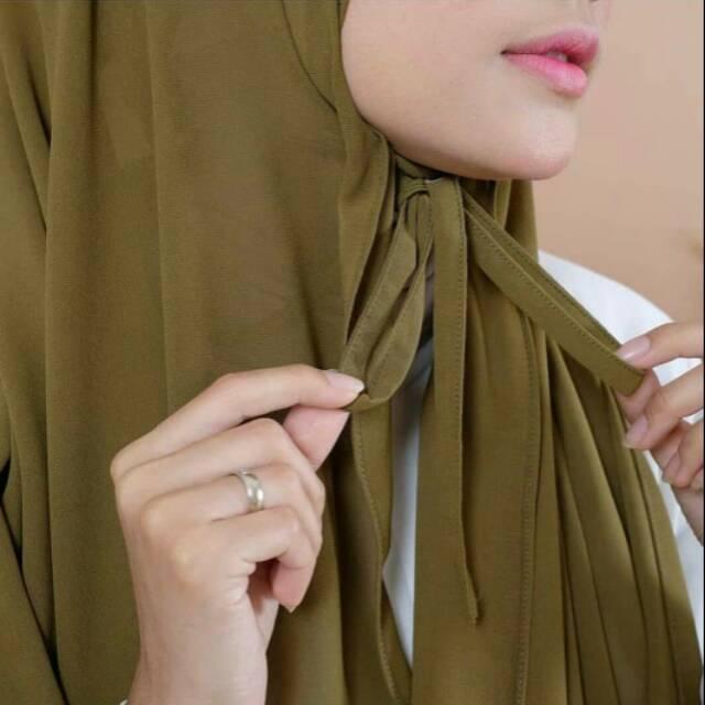 Pashmina Tali Diamond Italiano Jilbab Segi Empat Panjang Kerudung Pashmina Tali Diamond Shopee Indonesia