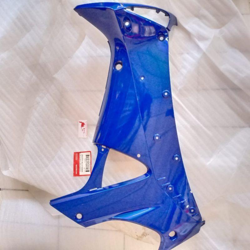 Cover R MP Side Dek Sayap Kanan Dalam Biru Supra X 125 ASLI 64400-KTM-850FMT