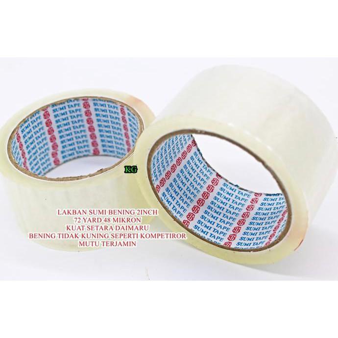 Lakban isolasi muscle 24mm 72yard 45 micron lebih lekat dan lebih berat | Shopee Indonesia