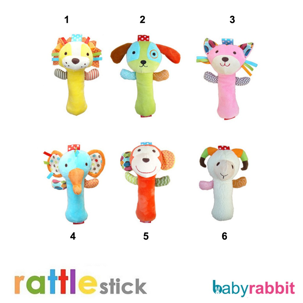 Grt07 Rattle Stick Skk Baby Mainan Bayi Shopee Indonesia Cans