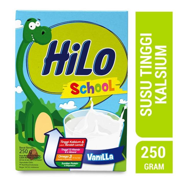 Hilo School Vanilla 250gr | Shopee Indonesia