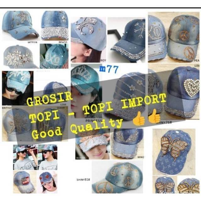 TOPI wanita fashion IMPORT 002  3963e11e04