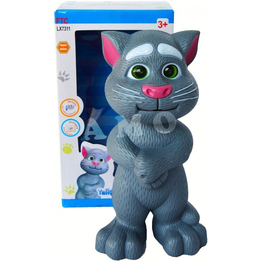 Bhs. Indonesia Tom Cat Boneka Kucing Bicara Intelligent Talking Tomcat  Mainan Edukasi  7e147c3ad2