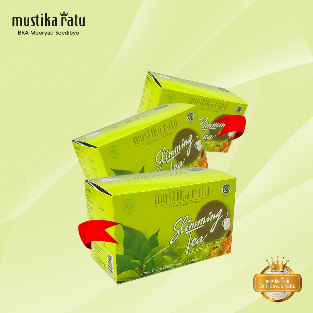 Mustika Ratu Triple Bundle Slimming Tea Honey Lime Perawatan Tubuh Wanita 28 Kaplet Diet Isi 15pcs Bahan Alami Halal Shopee Indonesia