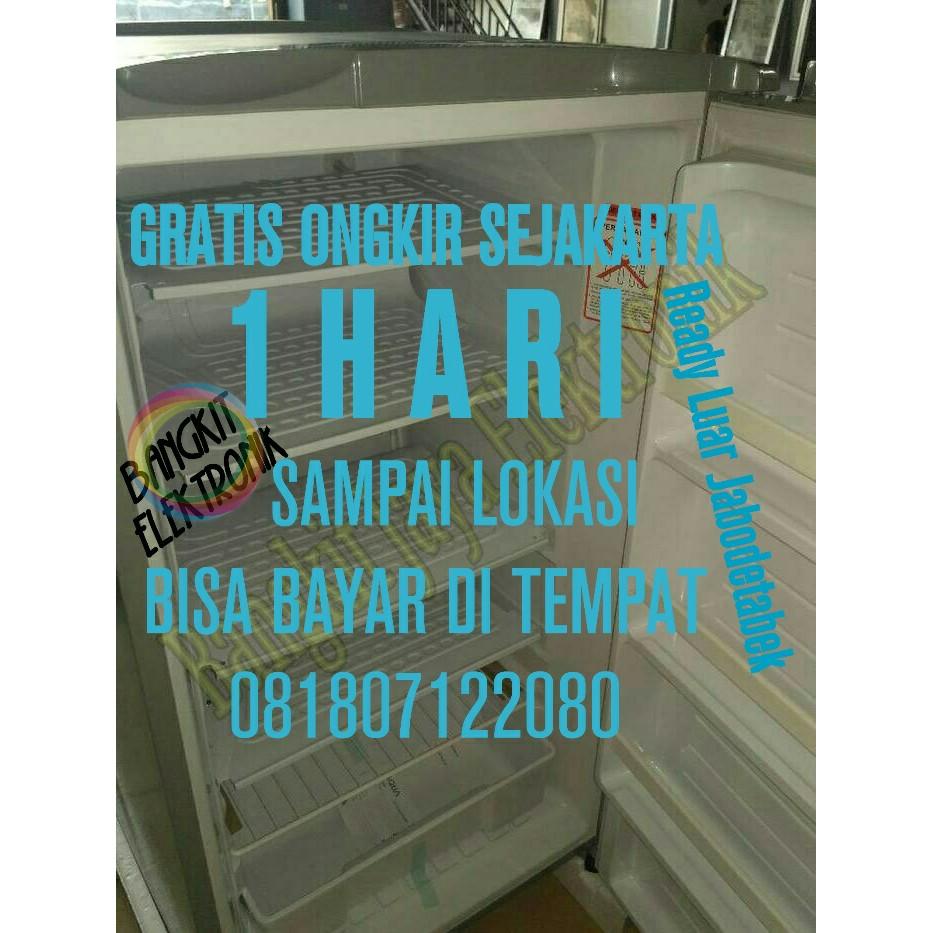 Aqua Sanyo AQF-S4 FREEZER 4RAK Free Ongkir Khusus JABODETABEK | Shopee Indonesia