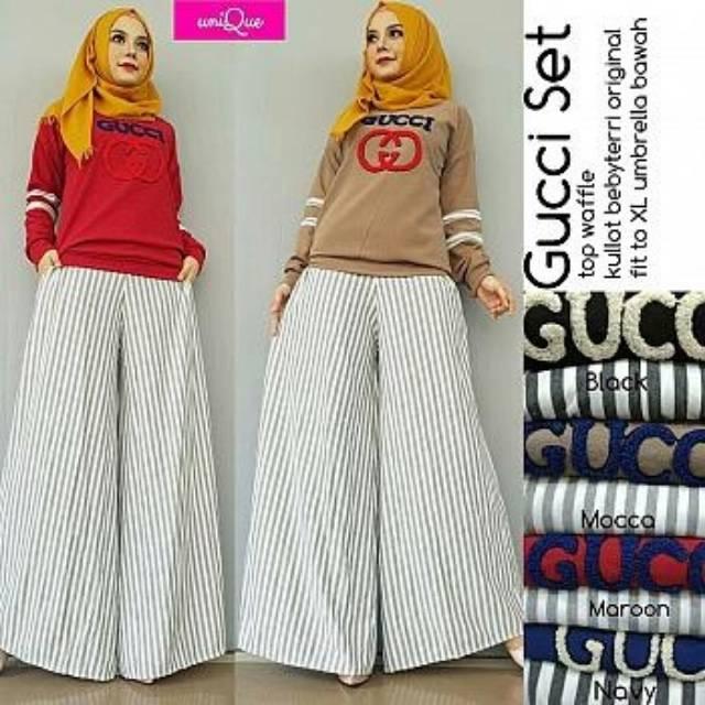 Gucci Setelan Hijab 7f5c0f5840