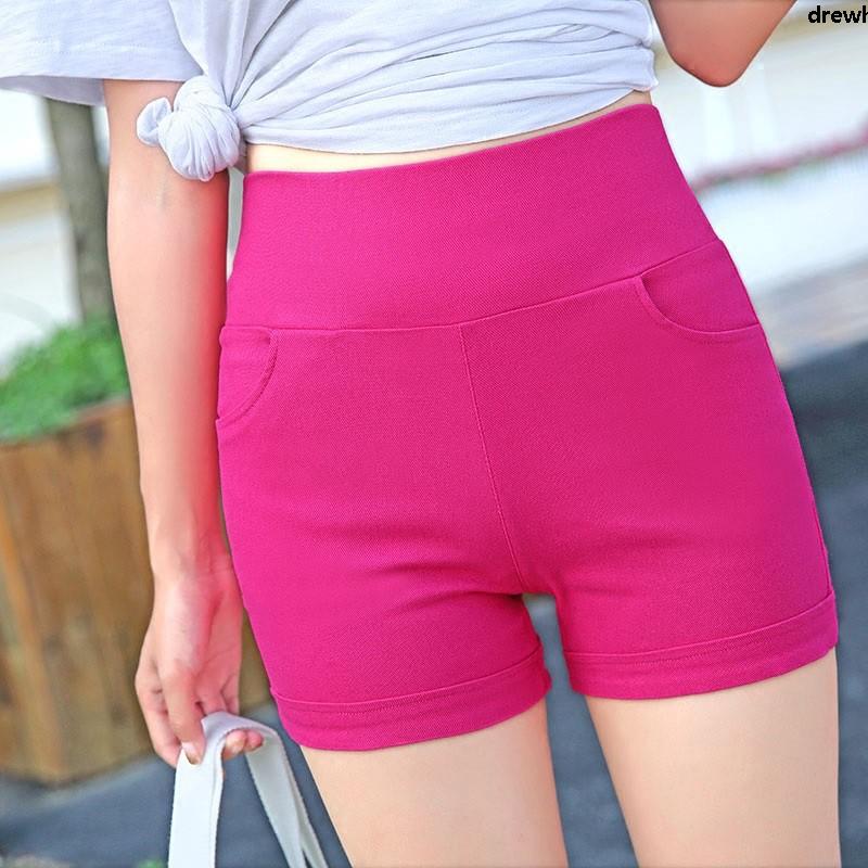 Celana Legging Pendek Wanita Dengan Model High Waist Dan Bahan Tipis Elastis Untuk Olahraga Musim Semi Shopee Indonesia