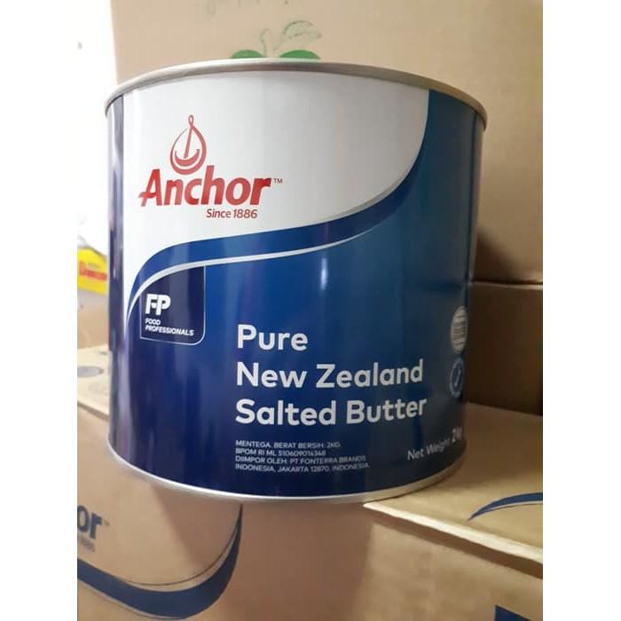 Anchor Butter / Butter Anchor Salted 2kg