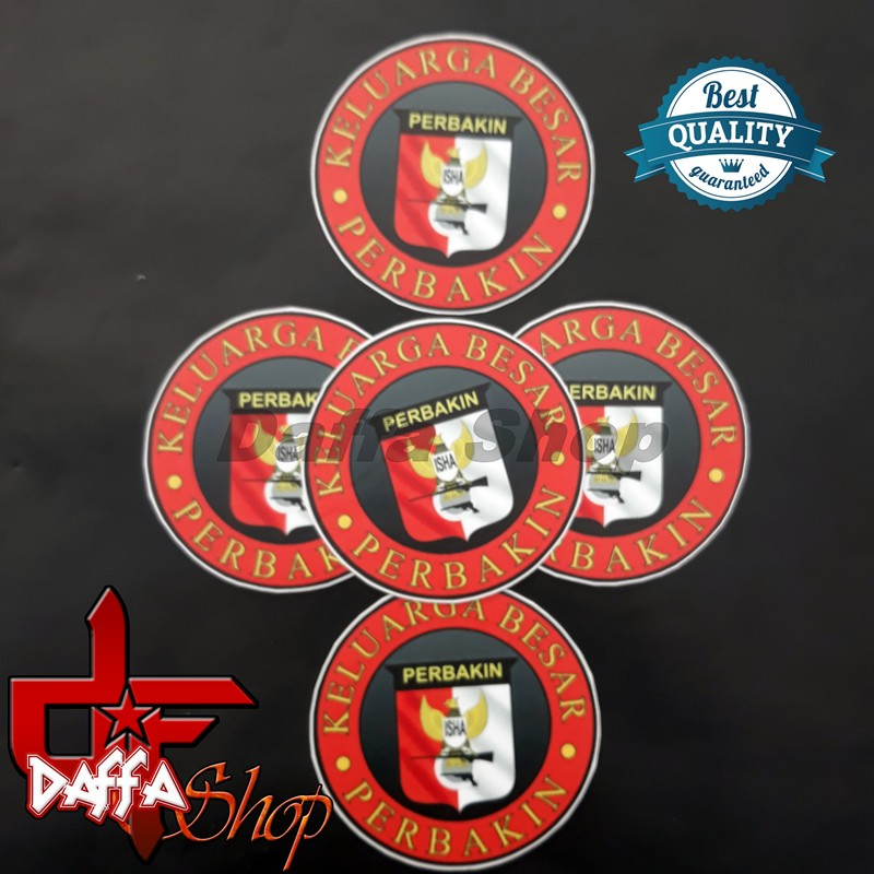 Stiker Logo Perbakin Bulat Shopee Indonesia