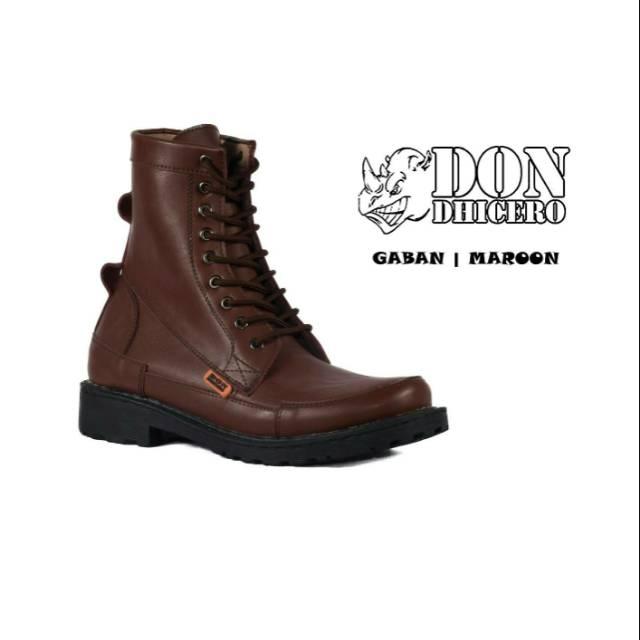 Sepatu Boots Safety Shoes Pria Aman Kerja Brand Original Outdoor Adventure Army Bagus Murah Baru | Shopee Indonesia