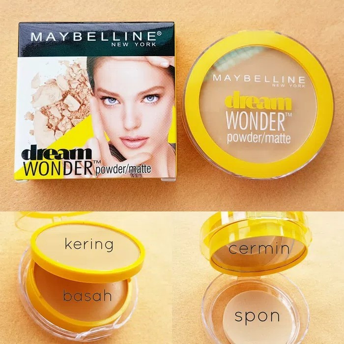 BB DREAM WONDER / BEDAK MAYBELLINE 2IN1 DREAM POWDER PADAT BASAH | Shopee Indonesia