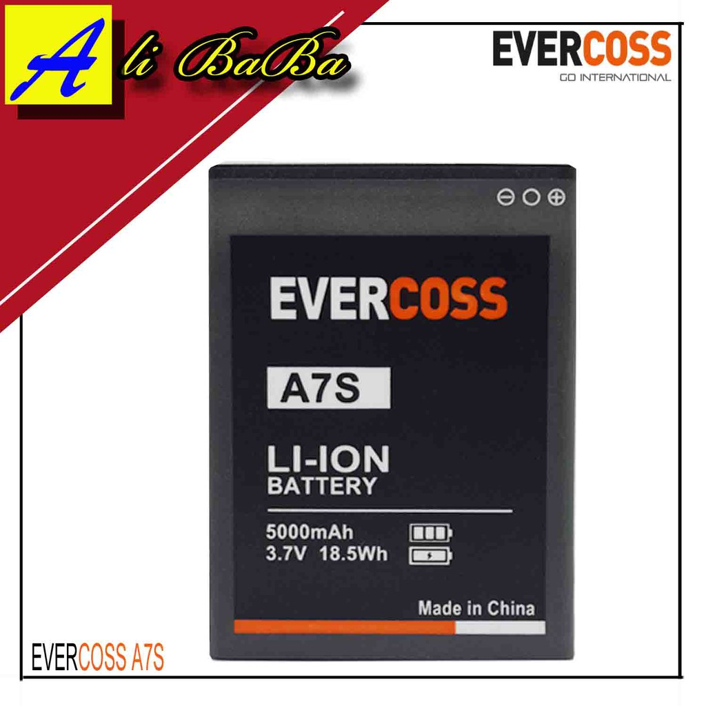 Baterai Handphone Evercoss A7S Dobel Power Original OEM Batre HP Batu Cross Battery