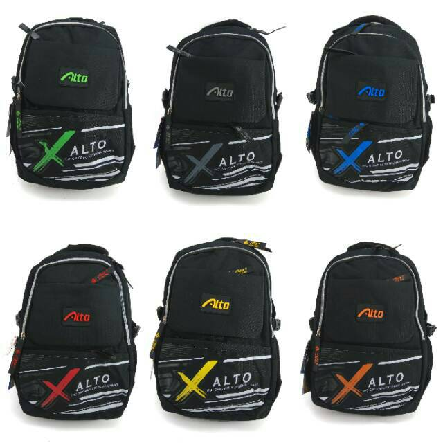 Tas Punggung Ransel Backpack Sekolah SD SMP SMA ALTO 737  3614756445