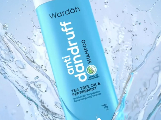 WARDAH Shampoo Anti Danddruff 170ml-2