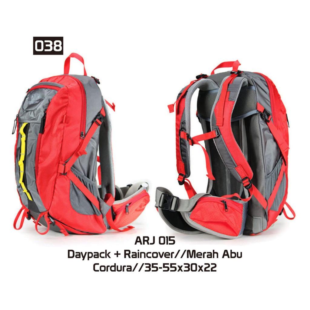 Mysun Id Tas Gunung Hiking Adventure Trekking Carrier Daypack Consina Algarve Hitam Kuning Trd 002 Shopee Indonesia