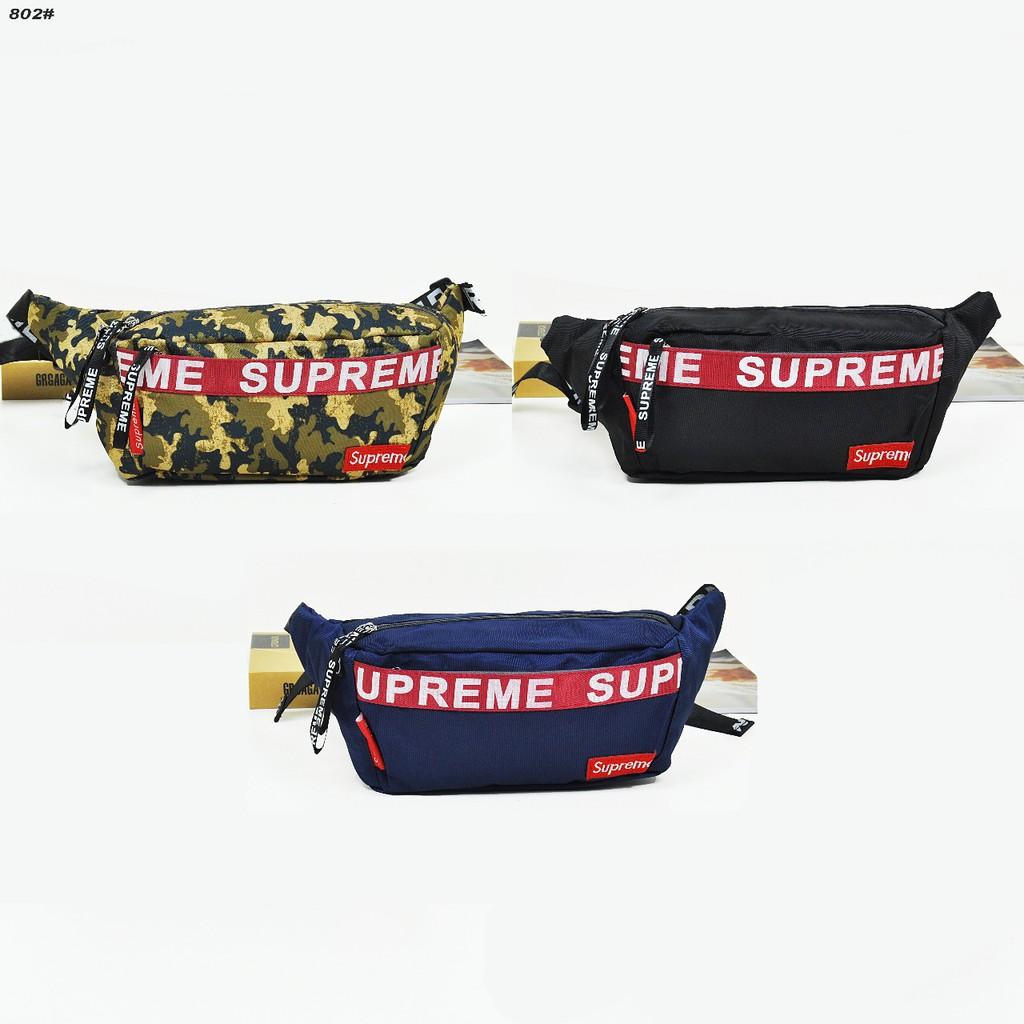 Penawaran Terbatas Tas Supreme 11 Highest Quality Adjustable Strap Waist Bag Premium Img3135 Pinggang 28x12x8 Cm Shopee Indonesia