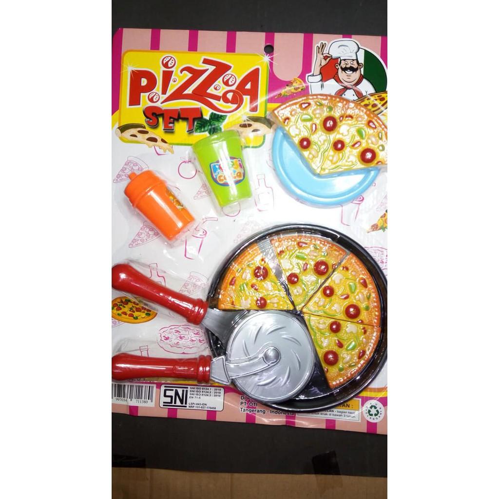 Hanya Disini Mainan Masak Masakan Anak Murah Pizza Set Shopee Indonesia