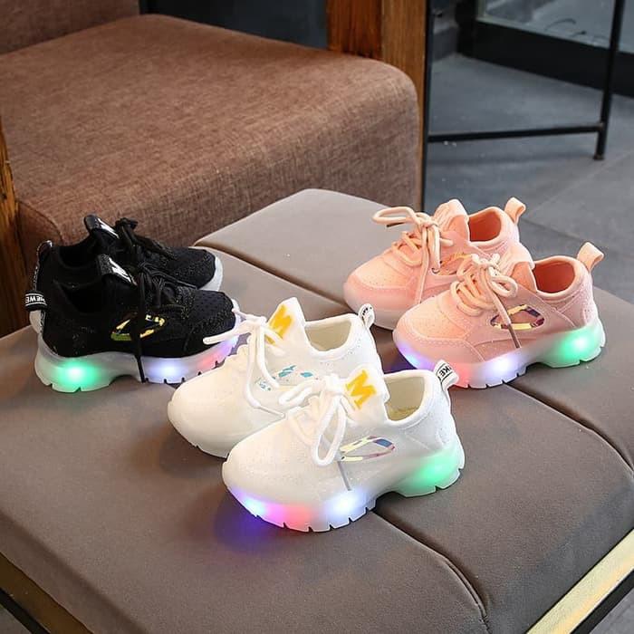 H11C7 Murah!! Sepatu Anak Cewek Perempuan Polos Tanggung Shoes Le ...