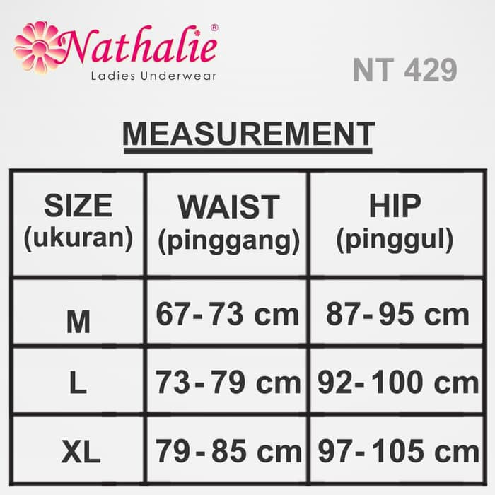 Nathalie Celana Dalam Wanita Mini Premium NTC 3109 3 pcs  846010f1d1