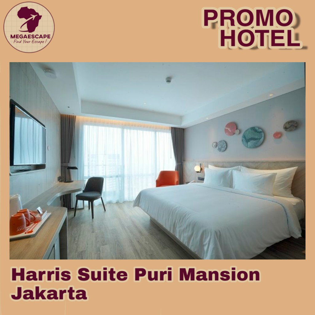 Voucher Hotel Harris Puri Mansion Jakarta Staycation Shopee Indonesia
