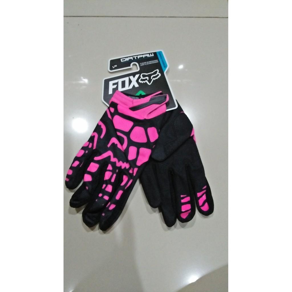 Sarung Tangan Fox Dirtpaw Import Pink Motocross Adventure | Shopee Indonesia