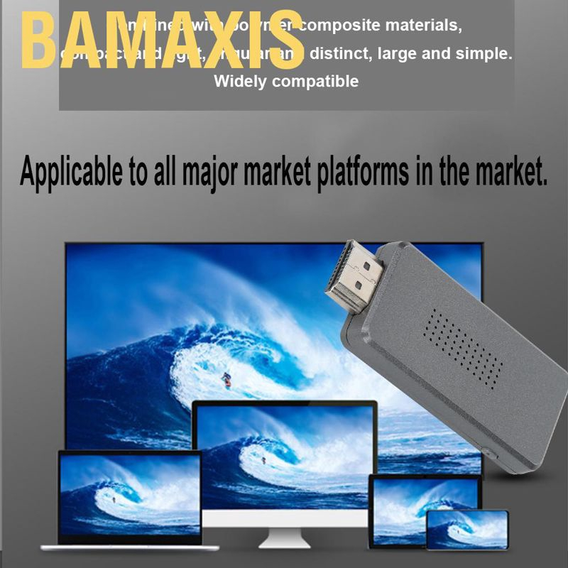 Bamaxis Ashata Adapter Wifi Wireless Hdmi Chip Am8268 1080p Hd Untuk Mirroring Layar Hp Shopee Indonesia