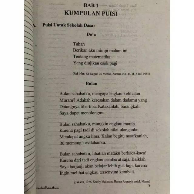 Buku Kumpulan Puisi Puisi Shopee Indonesia