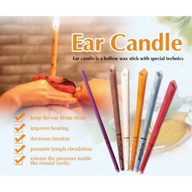 ORIGINAL EAR CANDLE Lilin telinga candling membersihkan kotoran aromatherapy aroma therapy asli ori | Shopee Indonesia