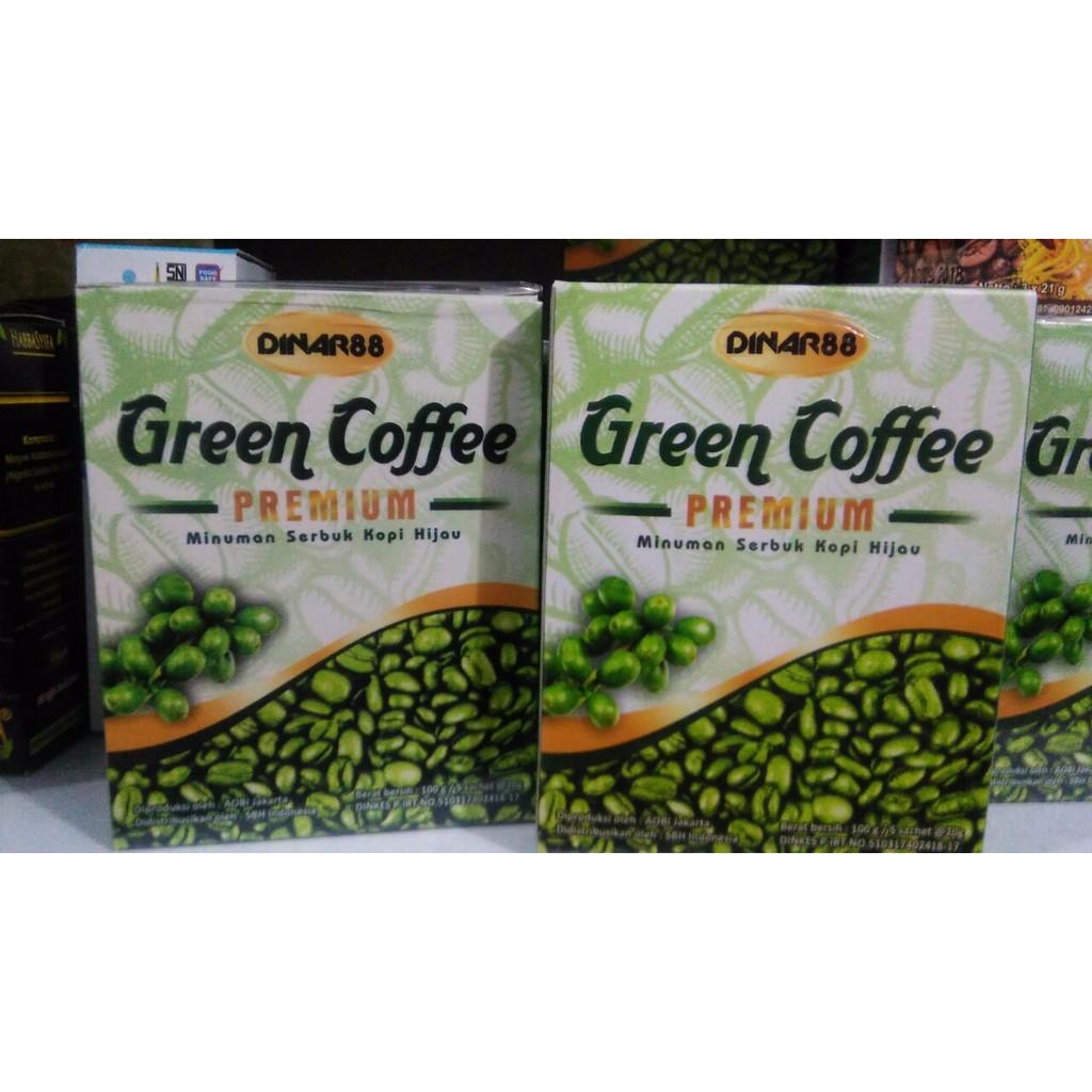 Green Coffee Premium Dinar88 Pelangsing Slimmer Diet Susut Lemak Nulife Shopee Indonesia