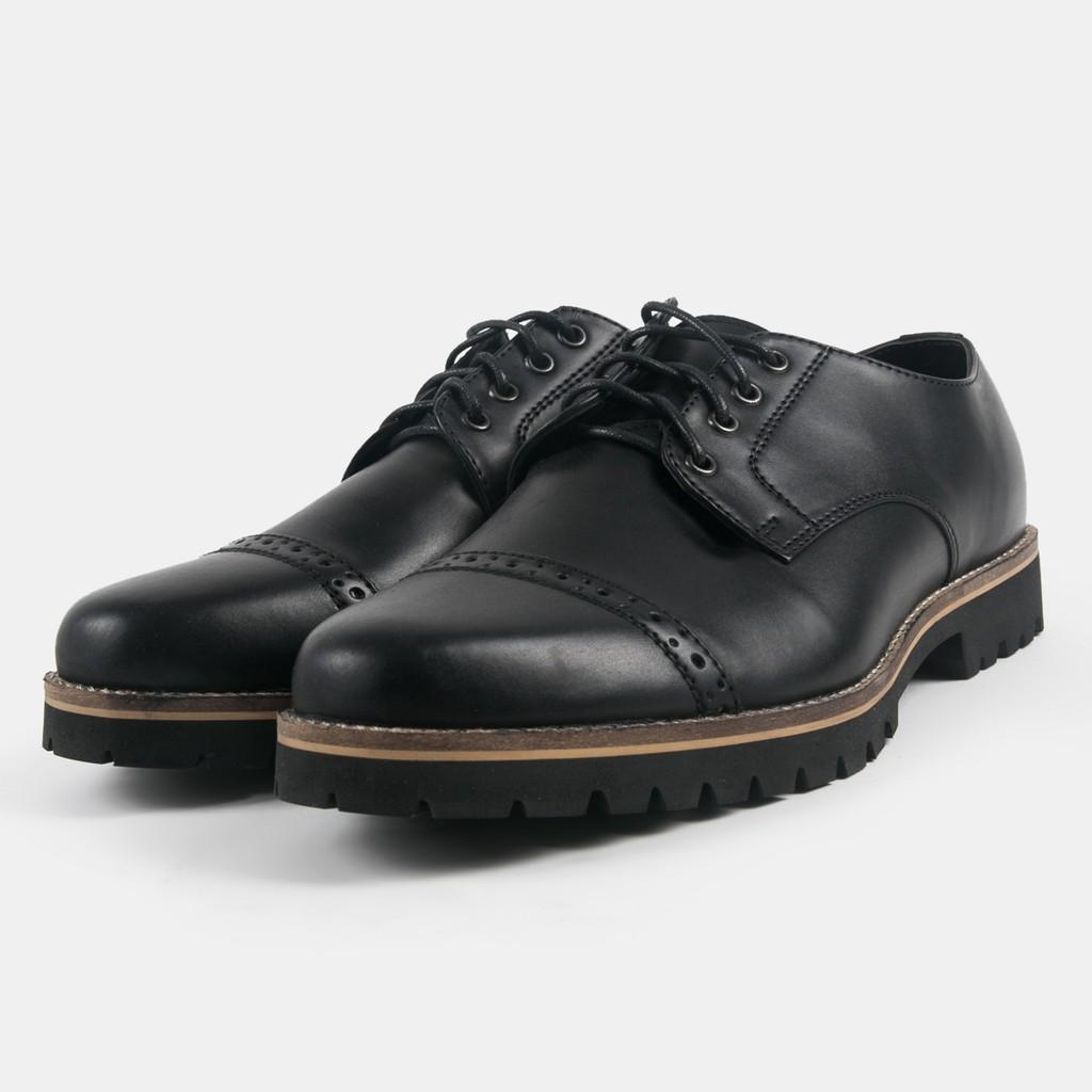Gino Mariani Mens Shoes Leather Zenos Hitam Shopee Indonesia Elario 1 Cow Casual Tan Cokelat Muda 45