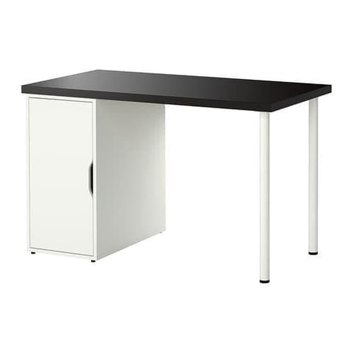 Ikea Linnmon Alex Meja Kerja Meja Komputer Meja Belajar 120x60 Cm