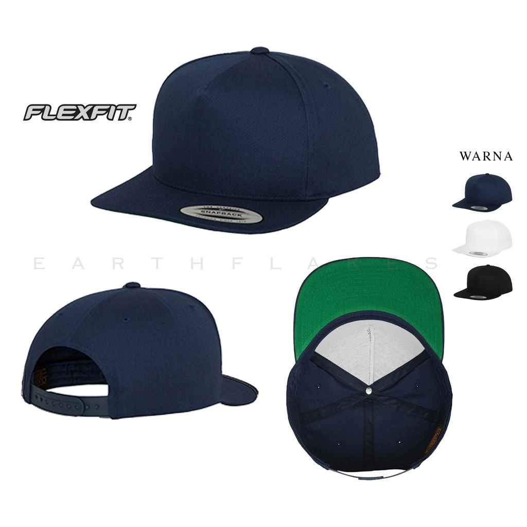 4d7e7267cfe Topi Polos Original Snapback/Baseball Flexfit Yupoong 6007 | Shopee ...
