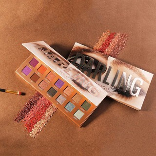 O.TWO.O 21 Color DARLING Drama Dream Eyeshadow Compact Palette With Mirror Kaca 2