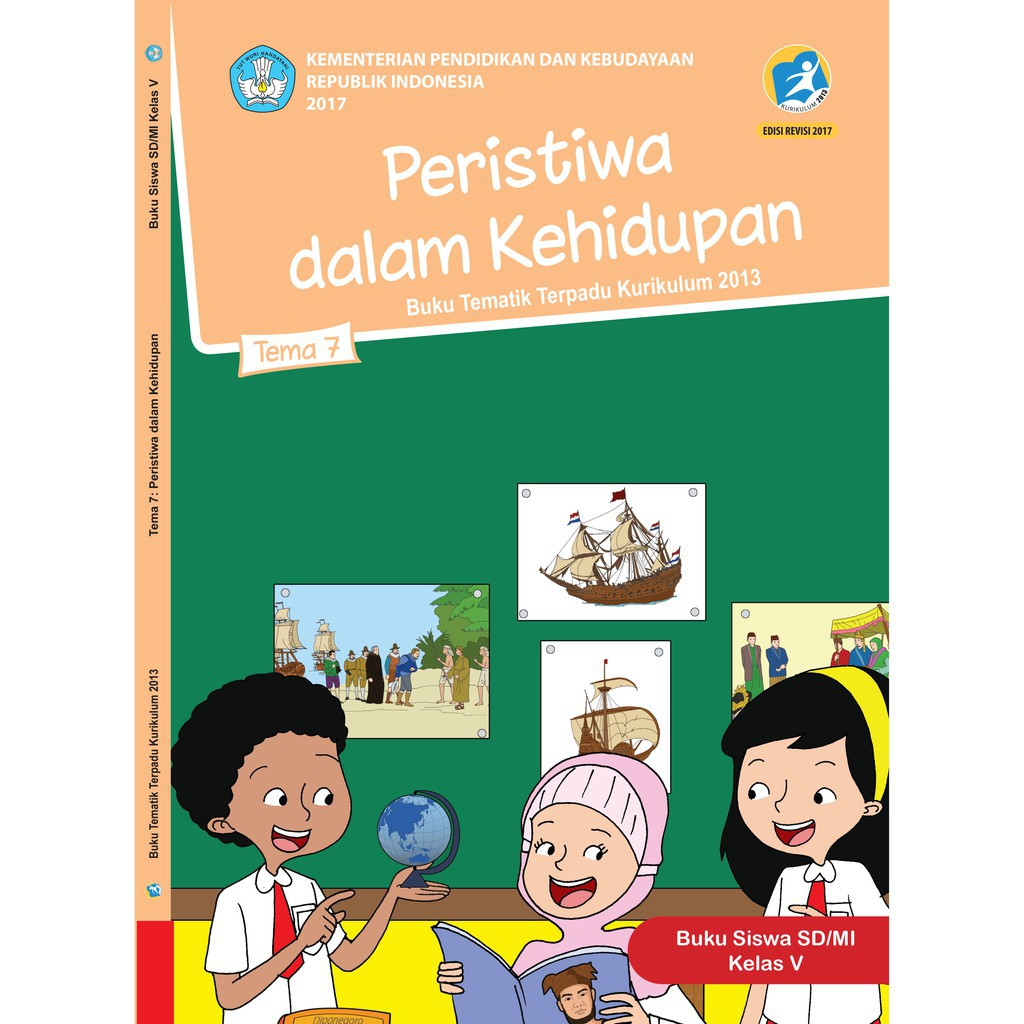 Buku Tematik Sd Kelas 5 Tema 7 Peristiwa Dalam Kehidupan K13 Revisi Shopee Indonesia