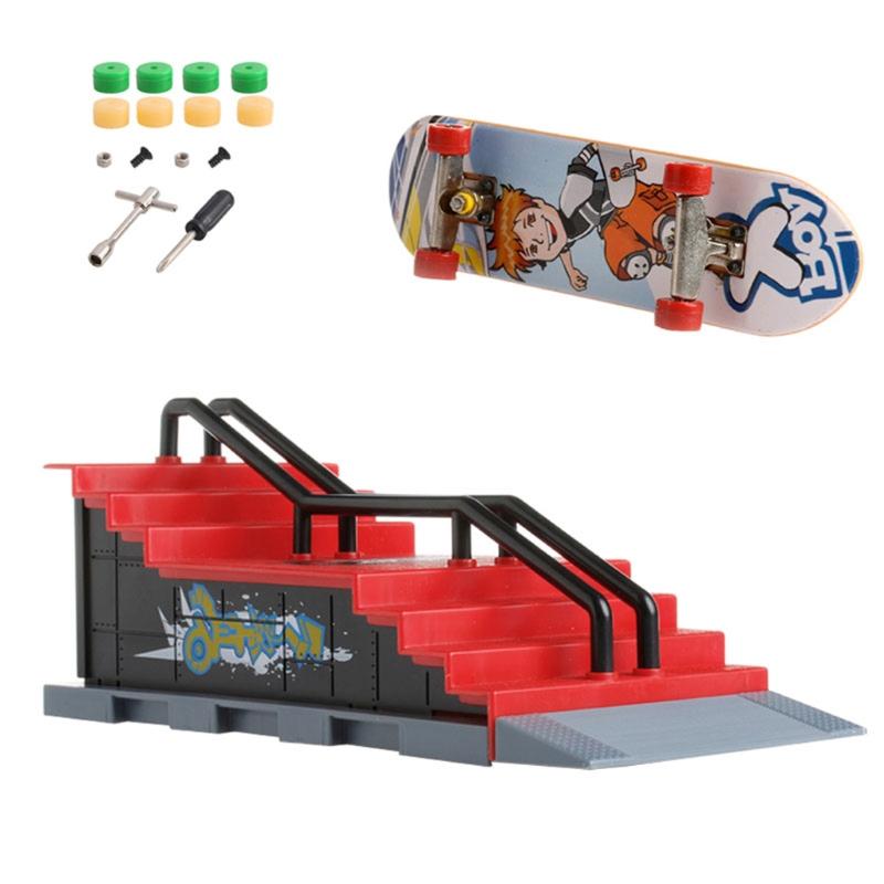 Omg Skate Park Ramp Parts For Tech Deck Fingerboard Finger Board Ultimate Parks New Shopee Indonesia