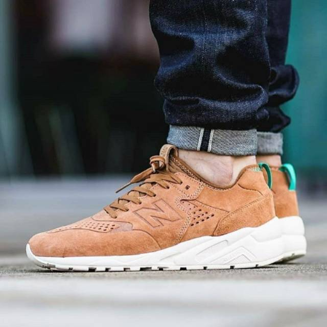 NEW BALANCE 580 DECONSTRUCTED BROWN