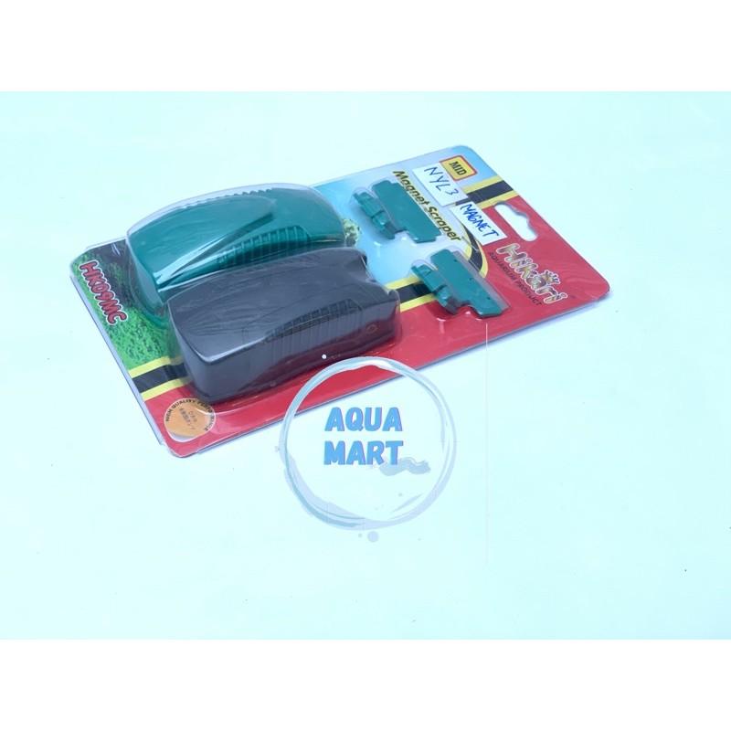 Magnet Pembersih Kaca Aquarium Merk Hikari Shopee Indonesia