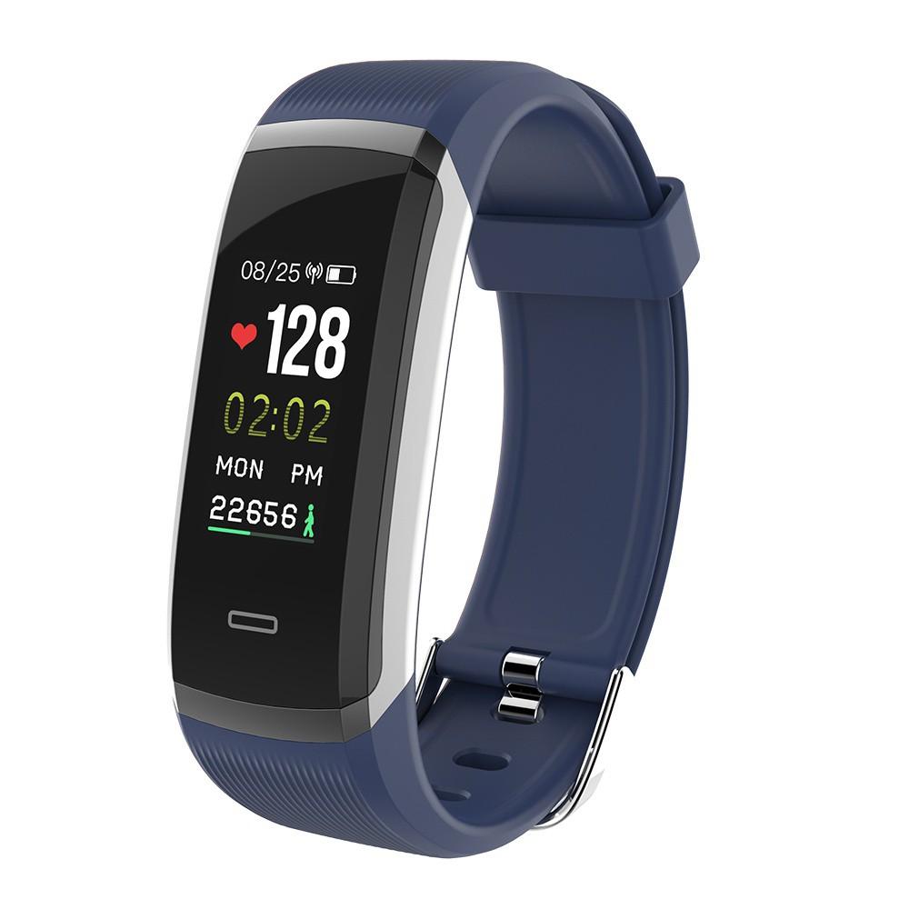Makibes hr3 Smartband Bluetooth IP67 Anti Air dengan Monitor Detak Jantung untuk IOS | Shopee Indonesia