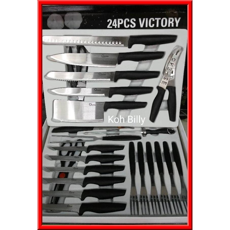Cuci Gudang Chef Knife Set Gbp3 D R Pisau Dapur Baru Shopee Ox 981 Butterfly Oxone 5pcs Indonesia